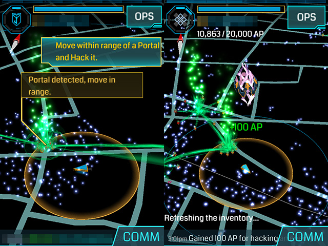 ingress karta