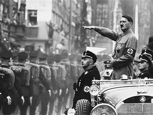 the impact of americas involvement in world war two to the downfall of adolf hitler