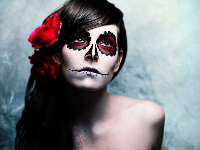 How to do skeleton makeup