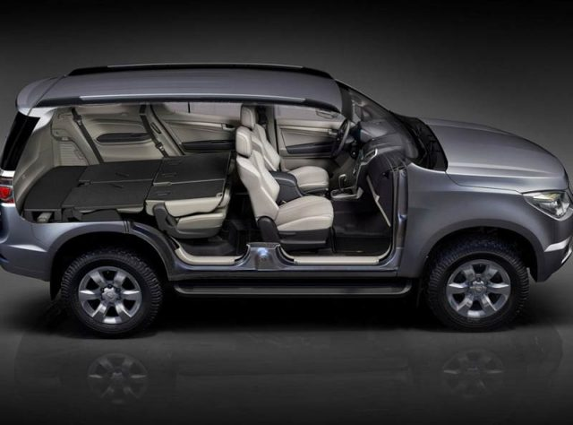 Интерьер Chevrolet Trailblazer 2016
