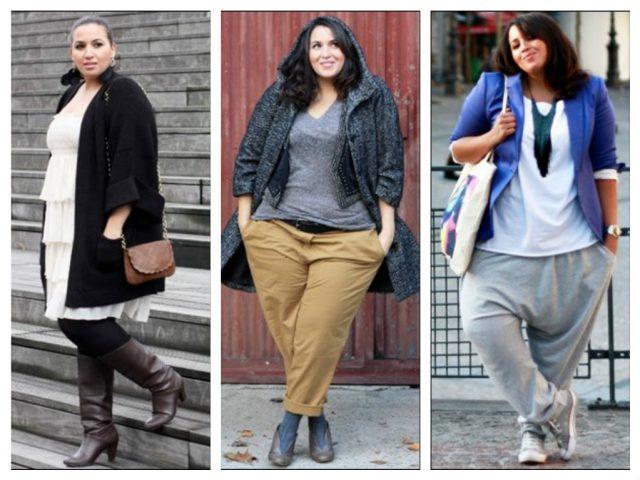 Осенняя мода для полных