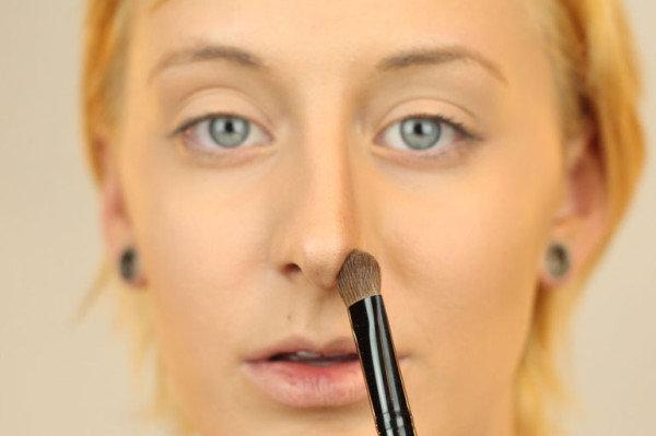 Как сделать длинный нос короче