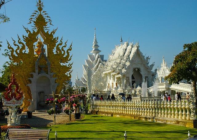 Zamok v Tailande