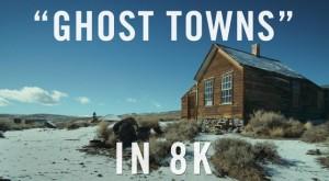 Ghost Towns: первое в мире видео на Youtube разрешения 8к UHD