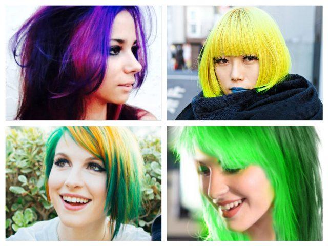 В какой цвет красят волосы в 2016 году