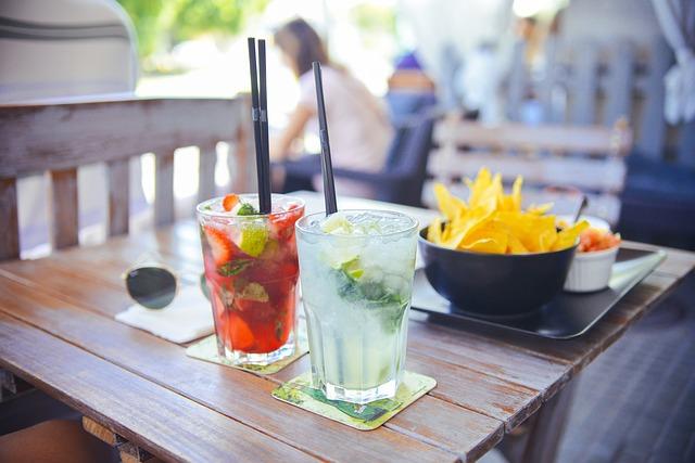 летние освежающие коктейли