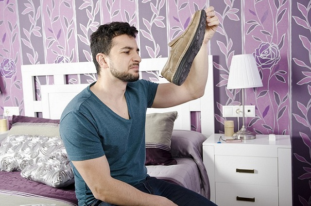 как убрать запах ног в домашних условиях