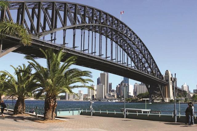 Мост Харбор в Сиднее