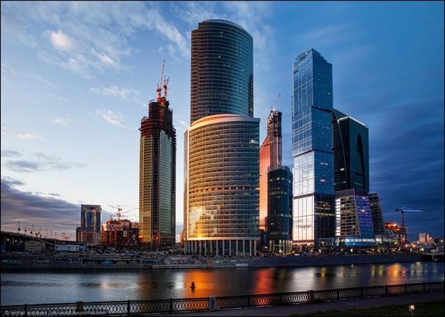 небоскребы России