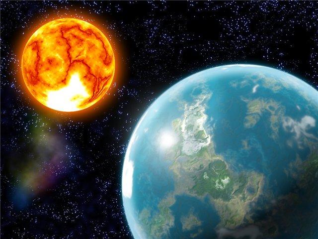 почему земля крутится вокруг своей оси