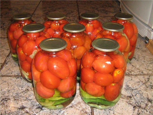 вкусная консервация помидор
