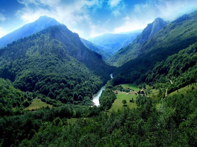Каньон реки Тара