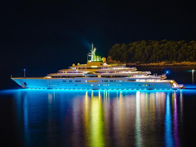 топ самых дорогих яхт