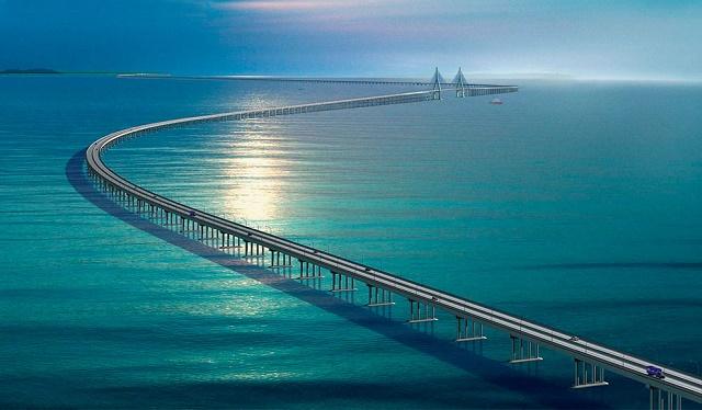 Мост Хуанчжоу в Китае
