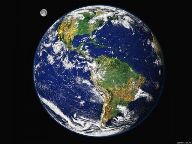 почему луна крутится вокруг земли