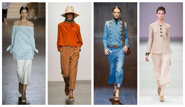 модные образы осень 2015
