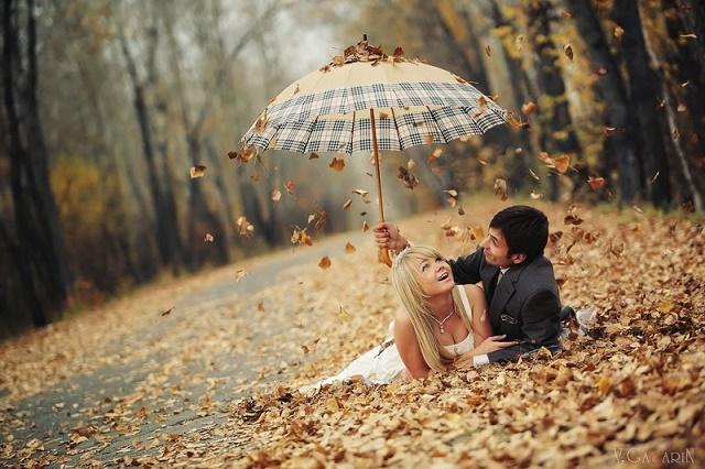 где провести свадьбу осенью