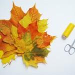 Поделки из осенних листьев: сделайте их вместе со своими детьми