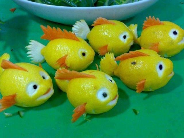 сделать осенние поделки из овощей для детского праздника