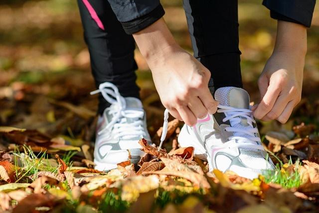 спорт осенью