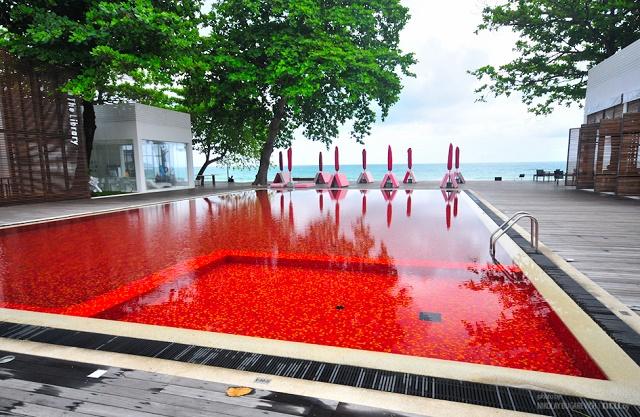 Красный бассейн на Самуи