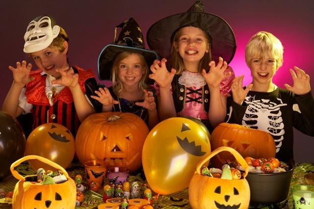 Хэллоуин вечеринка для детей