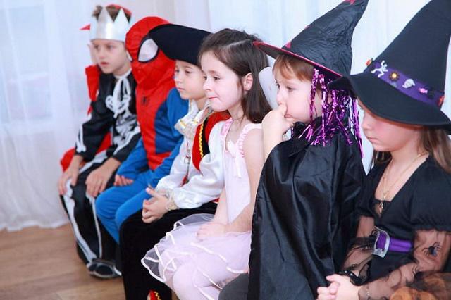 Развлечения на Хэллоуин для детей