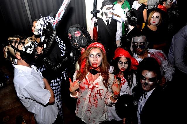 страшные образы на Хэллоуин