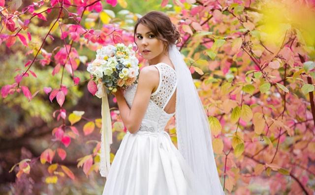 модные прически для свадьбы осенью
