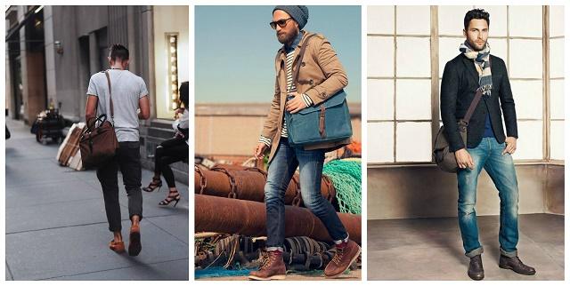Модные мужские сумки осень-зима 2015-2016