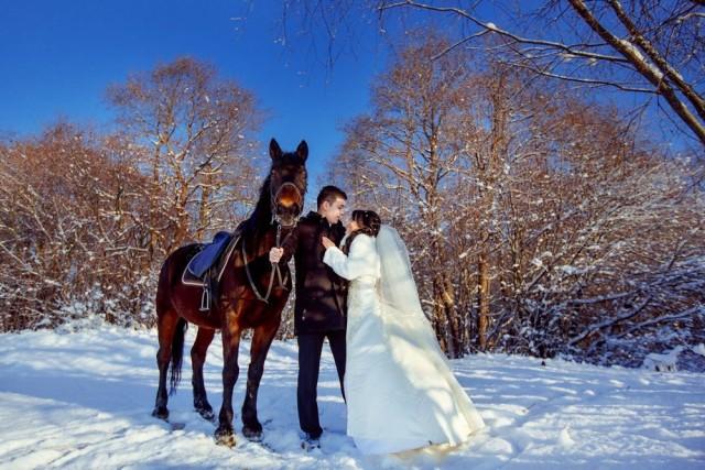 оригинальные идеи для свадьбы зимой