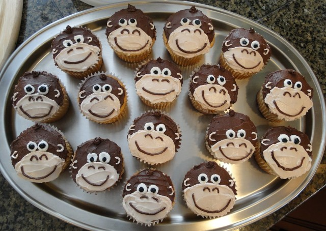 торт в виде обезьяны своими руками
