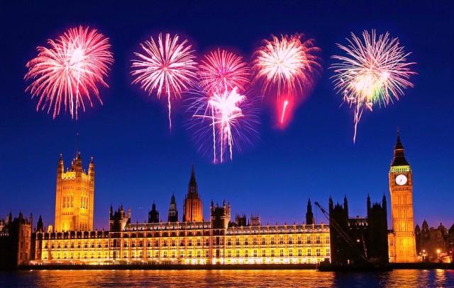 Лондон новый год