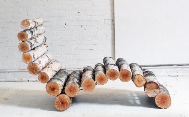 сделать скамейку из дерева