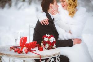 Свадьба зимой: новые идеи подскажут вам, как сделать ее нереально крутой
