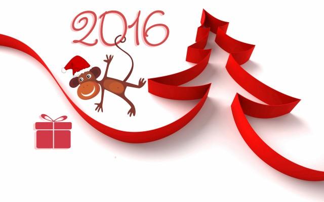 Цвета Нового года 2016