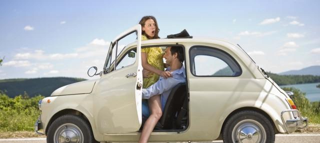 как удобно заниматься сексом в машине