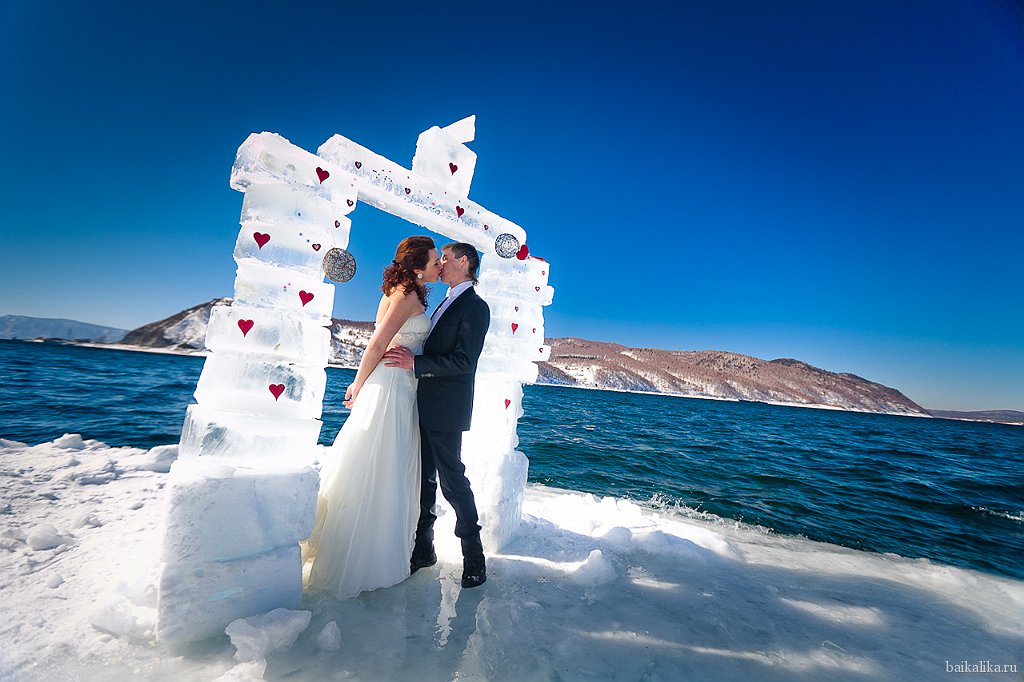 где провести свадьбу зимой