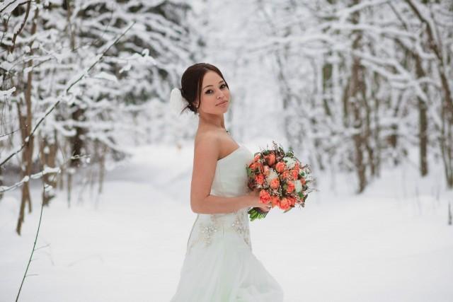 как необычно отметить свадьбу в зимнее время