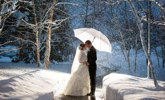 тематика свадьбы зимой