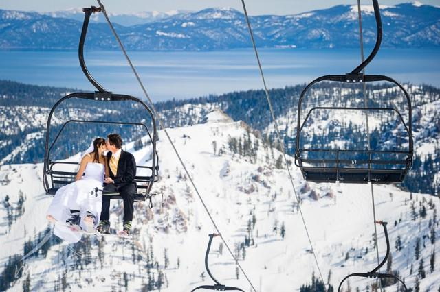 свадьба зимой, идеи проведения