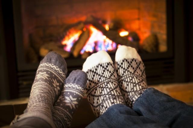 Как отогреть ноги после обморожения