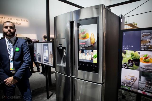 Family Hub Samsung холодильник