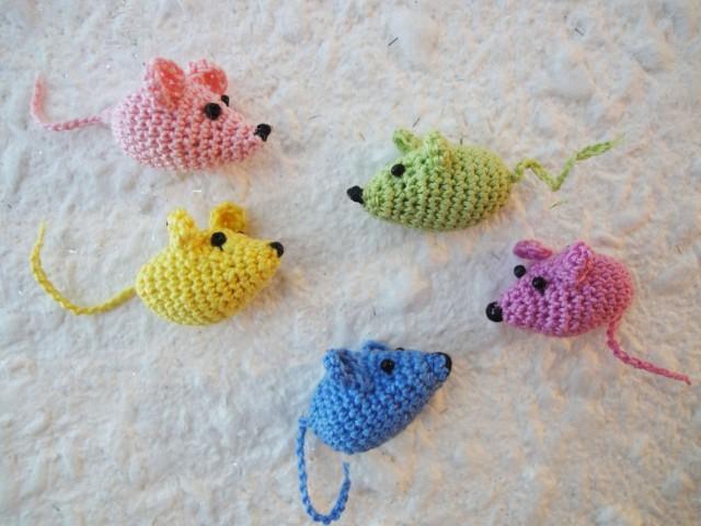 Игрушки мышки для кота
