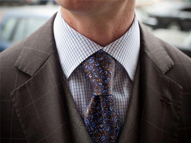 как просто завязывать галстук