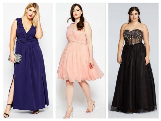 платья для полных девушек.