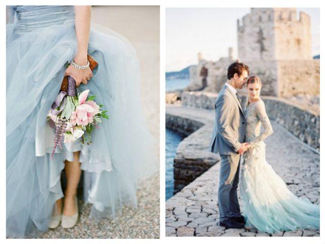 голубой цвет свадьбы в июне 2016