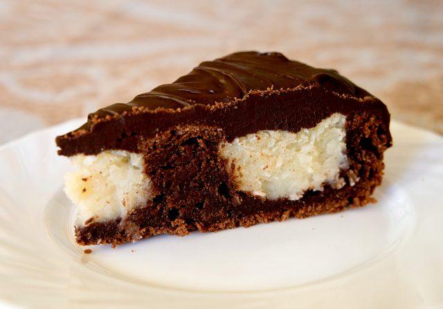 самый вкусный Шоколадный торт с кокосом