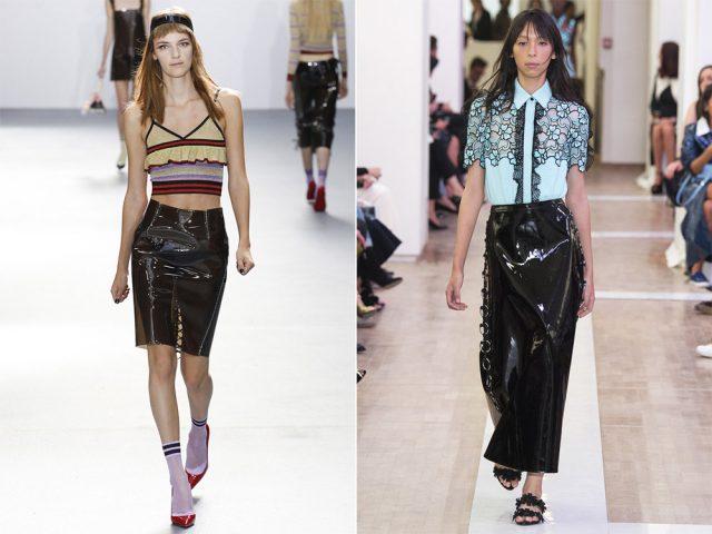 Модные модели длинных юбок