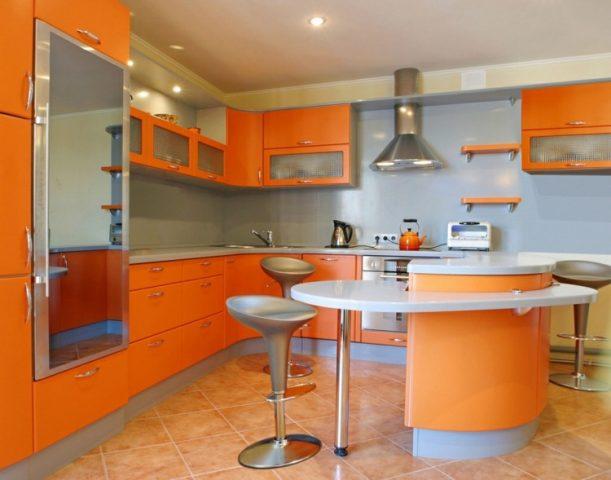 Восприятие оранжевого и желтого цветов